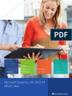 Microsoft Dynamics AX 2012 R3 - What's New