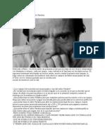 La Gran Pasión, A Pier Paolo Pasolini