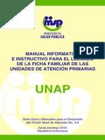 Manual Informativo e Instructivo de Ficha Familiar