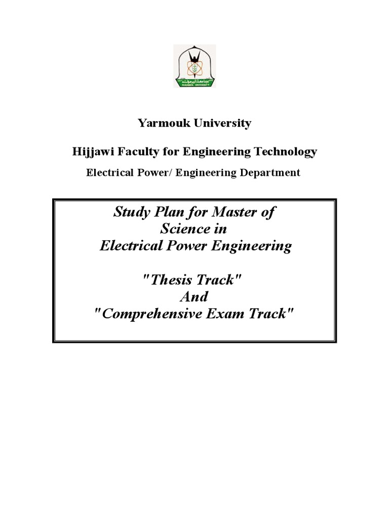 thesis electrical power engineering