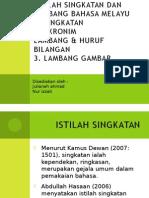 Istilah Singkatan Dan Lambang Bahasa Melayu