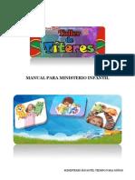 Manual de Titeres Para Ministerio Infantil
