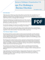 Rohingya Election Briefing Paper By BROUK
