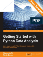 Getting Started with Python Data Analysis - Sample Chapter
