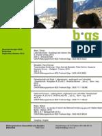 Neuerwerbungsliste der BGS-Bibliothek, September/Oktober 2015
