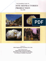 Magnesite Refractories Production