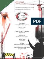 Instrumentos Topográficos Compuestos - Universidad José Carlos Mariátegui - Ingeniería Civil (Aracely Quispe)