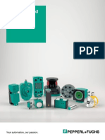 Catalogo Pepperl+Fuchs ( Sensors and Systems )