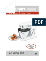 Cuisinart Stand Mixer Manual