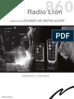 Mando por radio 860-RX010-A6-ES