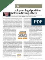 Earthwuake Nature Legal Position Advise