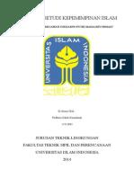 makalah studi kepemimpinan islam