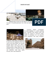 Sights of Baku