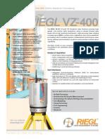 RIEGL VZ-400 Brochure