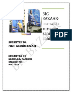 BIG BAZZAR Mradul Raj Pachouri_Service Marketing _Sec B