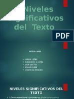 Niveles Significativos del  Texto.pptx