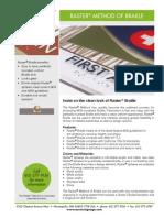 Raster®-Braille-flyer