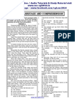 Ssc Tier II English Paper 4