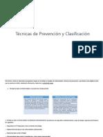 2. Técnicas de Prevención y Clasificación