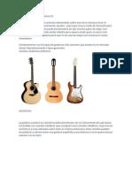 Tipos de Guitarras
