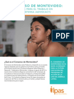 El Consenso de Montevideo