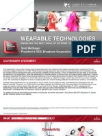 Wearable Technologies Report
