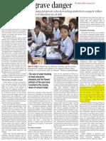 Dhankar_Schools in Grave Danger