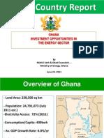 Ghana Energy Report
