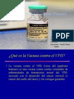 Vacuna Virus Del Papiloma Humano (VPH)