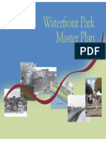 Waterfront Park Master Plan 2003