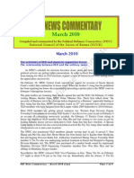 PDC Monthly News Commentary ~ March 2010 (Eng)