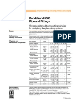 Ameron Bondstrand 5000 Pipe and Fitting Specification