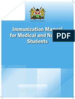 Immunization Manual for Medical and Nursing Students _final Smaller