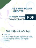Chuong 1 - Phap luat trong kinh doanh quoc te -FTU