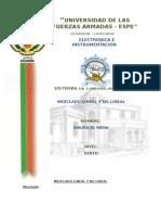 Mezclador Lineal y No Lineal