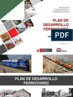 Proyecto de Plan de Desarrollo Ferroviario (Perú, Nov 2015)