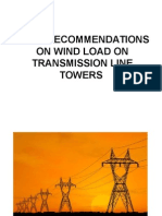 Is 802 Recommendations on Wind Load on Transmission