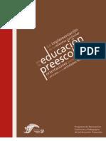 Reforma Curricular Preescolar