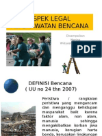 Slide Merina Aspek Legal Keperawatan Bencana