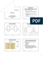 3 - Data Model and Architecture-1