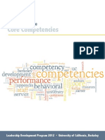 Core Competencies 2012