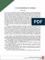 A Bronze Counterpoise of Athena
