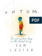 Shtum by Jem Lester Extract