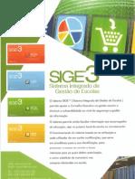 SIGE3 Folheto