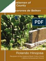 Claros varones de Belken/Fair Gentlemen of Belken County by Rolando Hinojosa