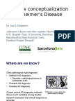 New Conceptualization of Alzheimers Disease