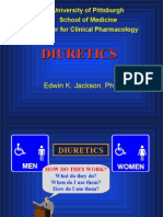 Pharmacology of Diuretics
