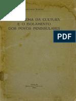 SÉRGIO, Antonio - O problema da cultura e o isolamento dos povos peninsulares.pdf