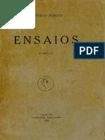 SÉRGIO, Antonio - Ensaios.3.pdf