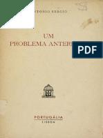 SÉRGIO, Antonio - Um problema anteriano.pdf